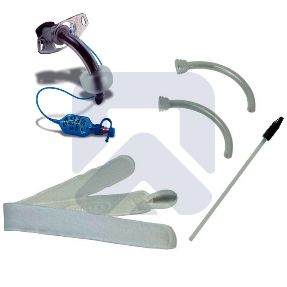 Blue Line Ultra® трахеостомическая трубка с манжетой (с принадлежностями)