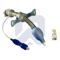Bivona® трахеостомическая трубка силиконовая армированная с манжетой (регулируемая длина)