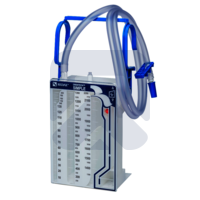 Дренажная система однобаночная двухкамерная