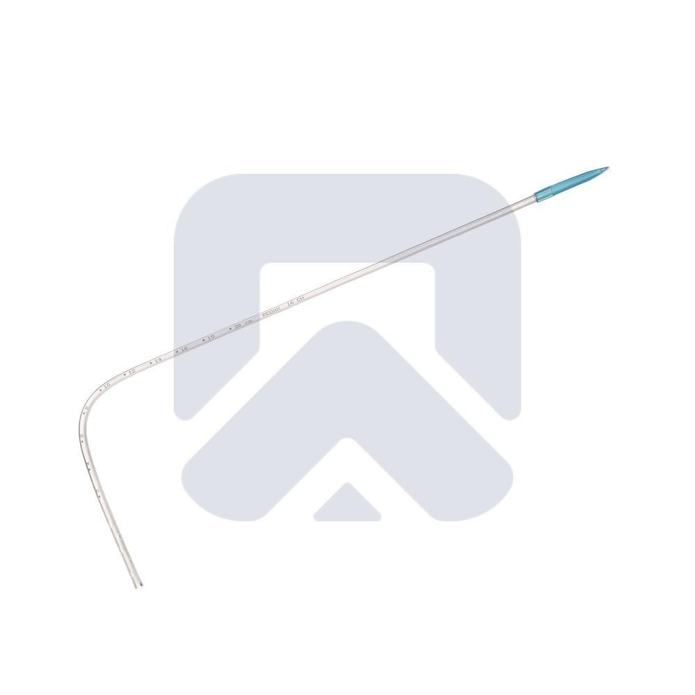 Катетер торакальный угловой ПВХ