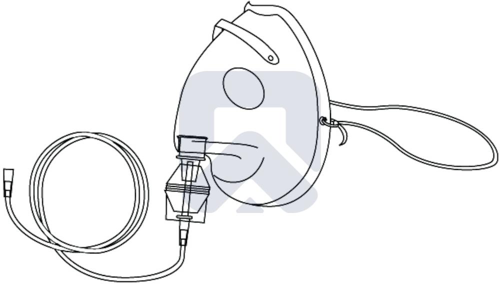 Маска для аэрозольной терапии