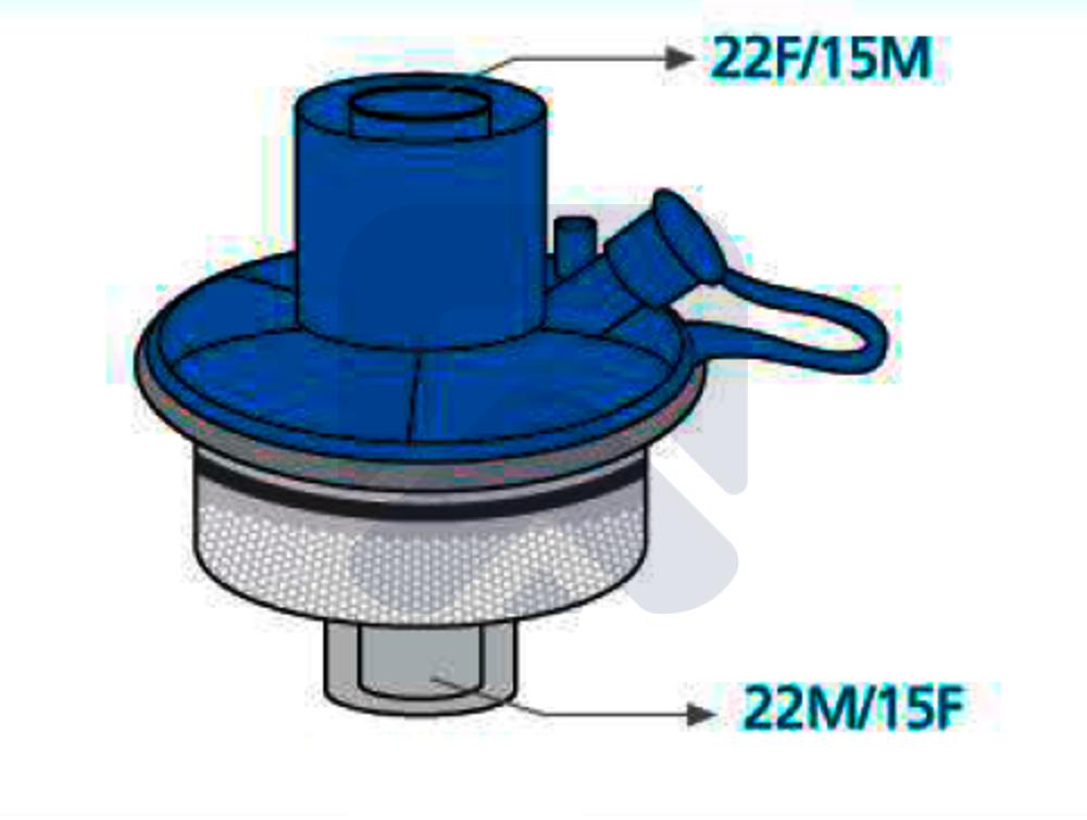 Фильтр дыхательный (БАКТЕРИАЛЬНЫЙ + УВЛАЖНЯЮЩИЙ / HMEF)