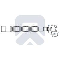 Удлинитель дыхательного контура (шарнир 360°)
