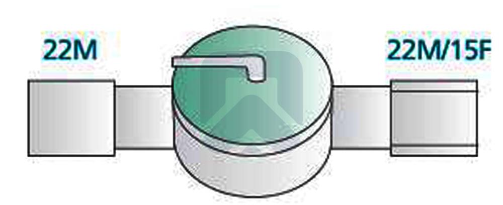 Коллектор с клапаном