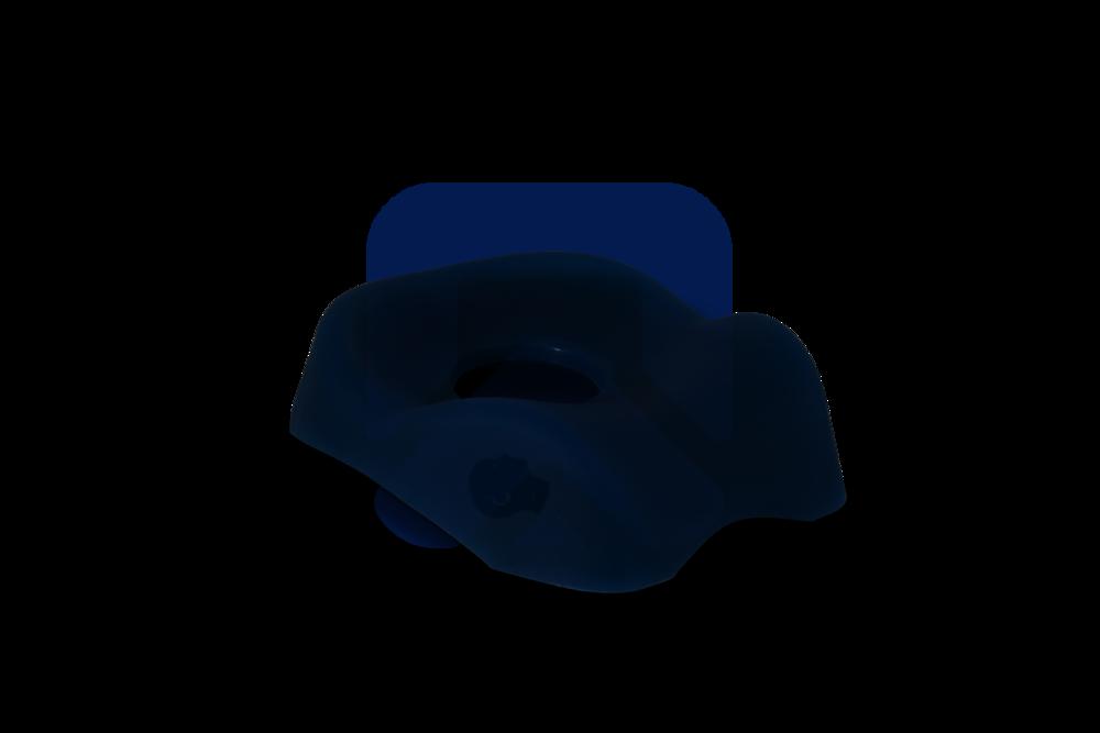 Противопролежневый протектор для головы (для затылка и шеи, анатомической формы, с отверстием)