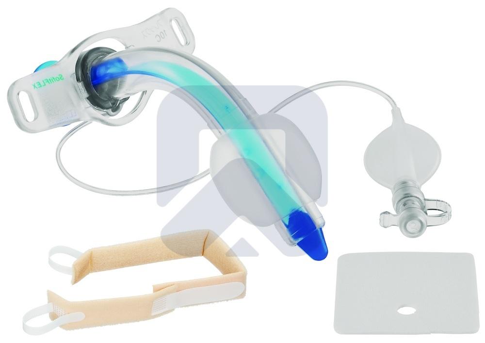 Трахеалкит® | трахеостомическая трубка Sofit FLEX С с манжетой