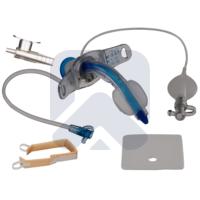 Трахеалкит®   трахеостомическая трубка Sofit CLEAR С-S с манжетой и каналом для санации
