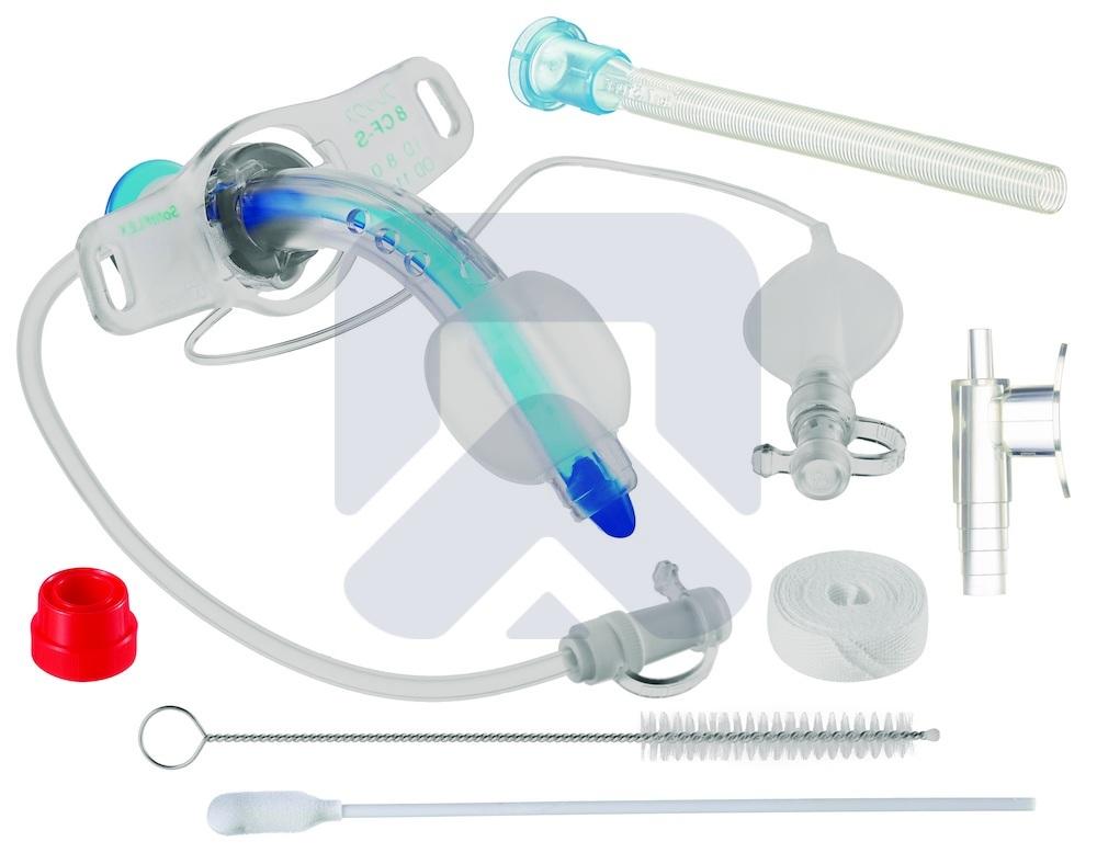 Трахеалкит® | трахеостомическая фенестрированная трубка Sofit FLEX CF-S с манжетой
