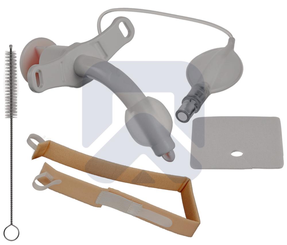 Педиатрический Трахеалкит® | трахеостомическая трубка Love PC с манжетой