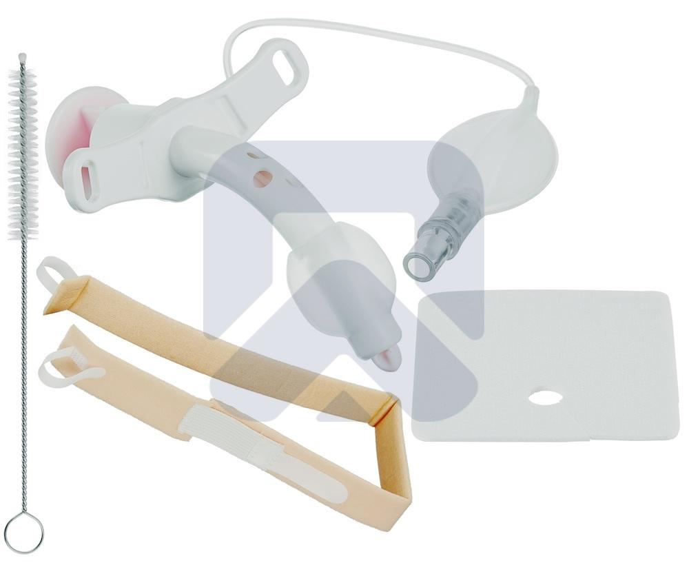 Педиатрический Трахеалкит® | трахеостомическая фенестрированная трубка Love PC-F с манжетой