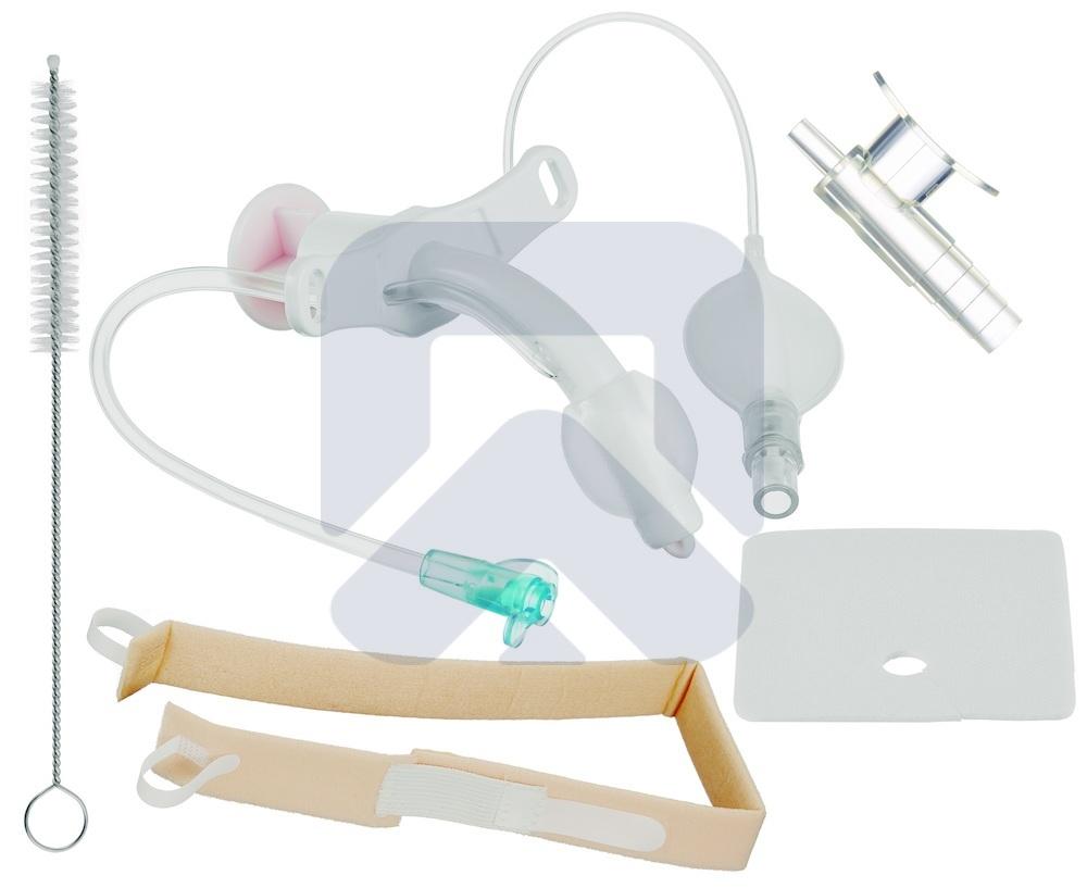 Педиатрический Трахеалкит® |трахеостомическая трубка Love PC-S с манжетой и каналом для санации